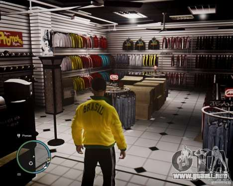 Foot Locker Shop v0.1 para GTA 4 segundos de pantalla