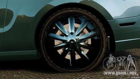 Ford Mustang Boss 302 2013 para GTA 4 vista lateral