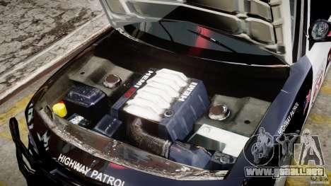 Dodge Charger NYPD Police v1.3 para GTA 4 vista interior