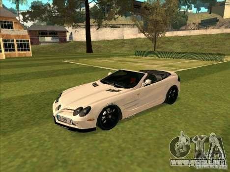 Mercedes-Benz SLR 722 Convertible para GTA San Andreas