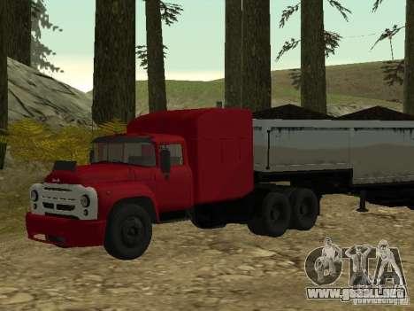 ZIL 130 Tractor para GTA San Andreas
