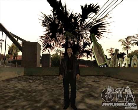 Estrías blancas para GTA San Andreas quinta pantalla