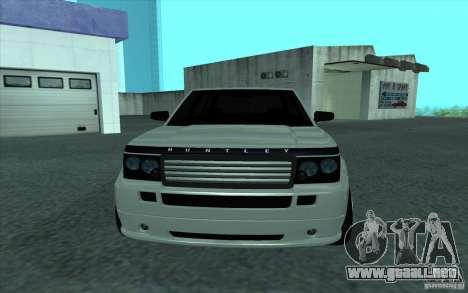 Huntley de GTA 4 para la visión correcta GTA San Andreas