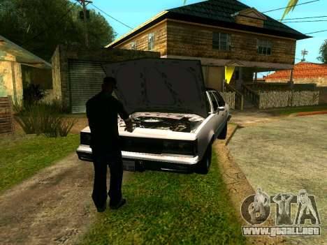 Amigos de CJ en el Grove para GTA San Andreas sucesivamente de pantalla