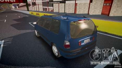 Renault Grand Espace III para GTA 4 ruedas