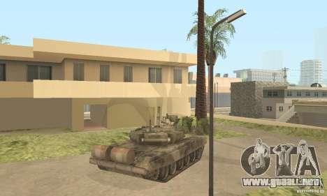 T-90A para GTA San Andreas vista hacia atrás