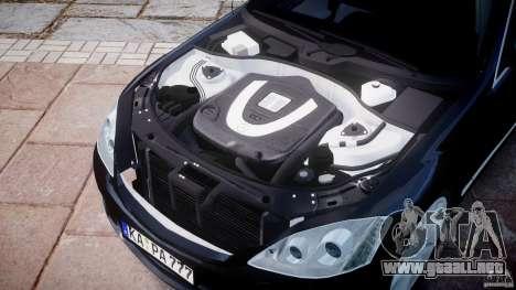 Mercedes-Benz S600 w221 para GTA 4 vista interior