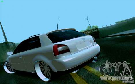 Audi A3 DUB Edition para GTA San Andreas left