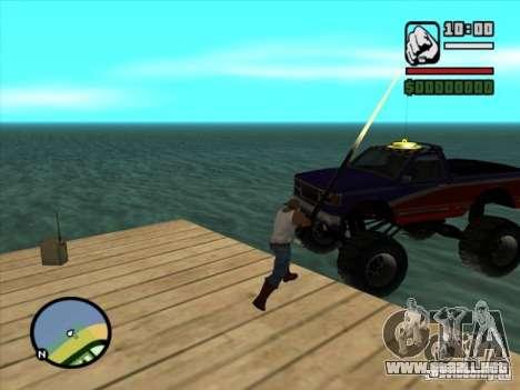 Pesca para GTA San Andreas tercera pantalla