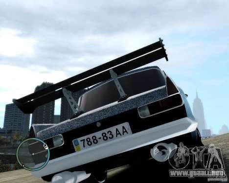 Moskvič 412 Street Racer [alfa] para GTA 4 vista interior