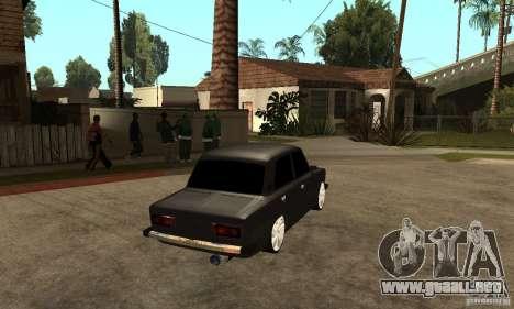 VAZ Lada 2106 LT para la visión correcta GTA San Andreas
