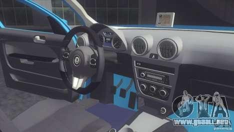 Volkswagen Voyage G6 2013 para la visión correcta GTA San Andreas