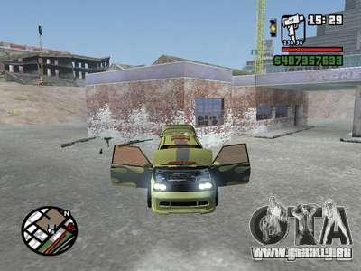 1111 OKA (tuning) para GTA San Andreas left