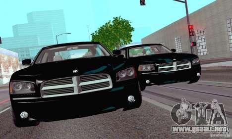 Dodge Charger Fast Five para la visión correcta GTA San Andreas