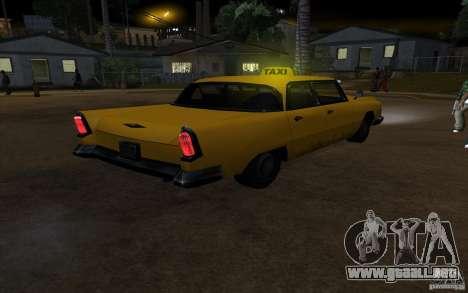 Oceanic Cab para visión interna GTA San Andreas