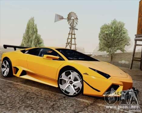 New Carcols para GTA San Andreas sucesivamente de pantalla