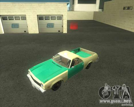 1973 Chevrolet El Camino (old) para GTA San Andreas