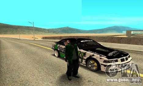 BMW E36 Drift para la visión correcta GTA San Andreas