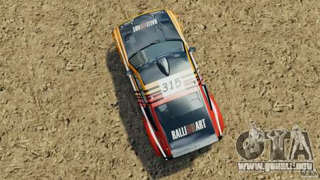 Mitsubishi Pajero Evolution MPR11 para GTA 4 visión correcta