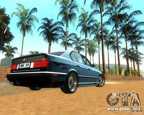 BMW 525i E34 para la visión correcta GTA San Andreas