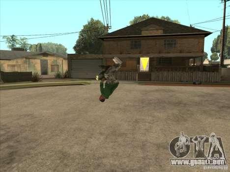 Parkour 40 mod para GTA San Andreas octavo de pantalla