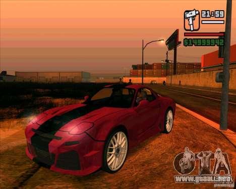 Mazda RX-7 MW para GTA San Andreas