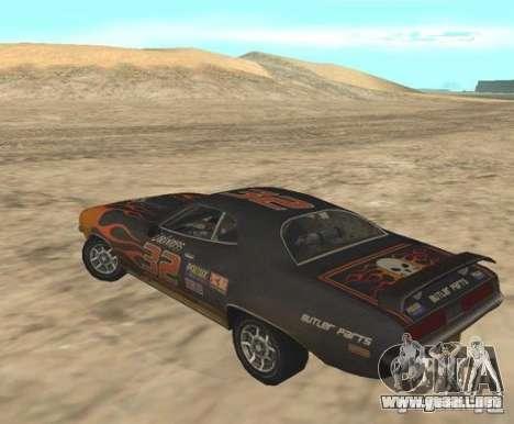 Bullet from FlatOut 2 para GTA San Andreas left