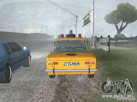 POLICÍA DE TRÁNSITO VAZ 21016 para la visión correcta GTA San Andreas