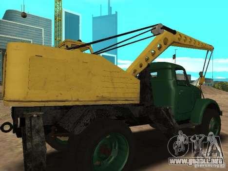 Grúa móvil de GAZ 51 para la visión correcta GTA San Andreas