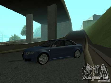Audi RS4 para GTA San Andreas left