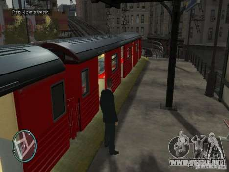 Redbird tren v1.0 para GTA 4 tercera pantalla