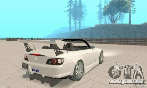 Honda S2000 Cabrio West Tuning para GTA San Andreas left