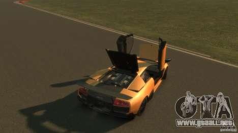 Lamborghini Murcielago VS LP 670 FINAL para GTA 4 vista superior
