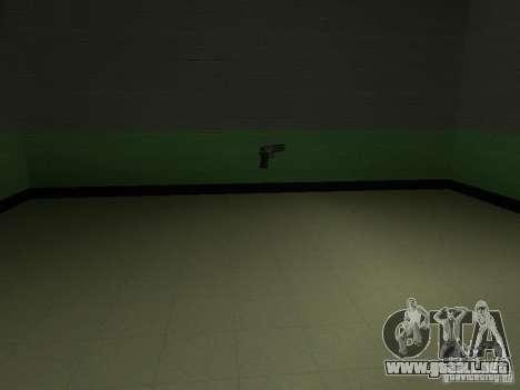 La entrada a la zona de la policía en San Fierro para GTA San Andreas sexta pantalla