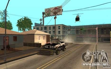 Chevrolet Hunter para GTA San Andreas vista hacia atrás