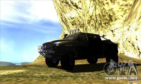 Dodge Ram All Terrain Carryer para GTA San Andreas left