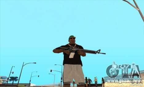 WEAPON BY SWORD para GTA San Andreas tercera pantalla