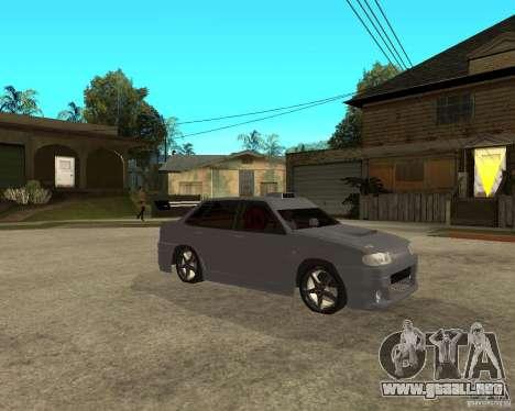 MCC VAZ 2115 para la visión correcta GTA San Andreas