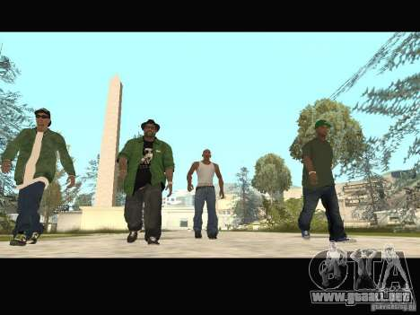 Family Skins Pack para GTA San Andreas