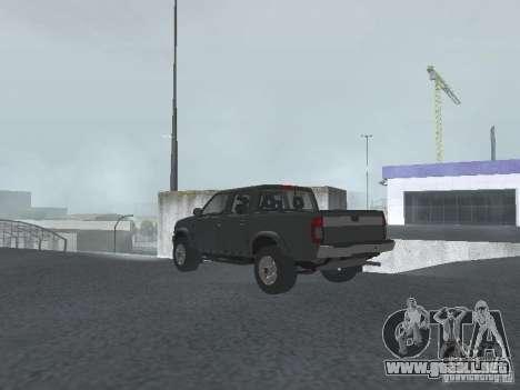 Nissan Frontier para GTA San Andreas left