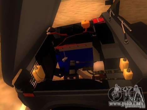 Vaz 2131 NIVA para visión interna GTA San Andreas