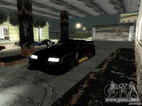 Barón de vinilo de Most Wanted para GTA San Andreas left