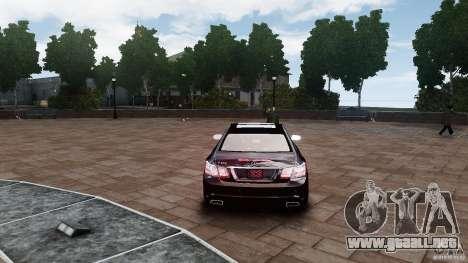 Mercedes Benz E500 Coupe para GTA 4 visión correcta