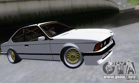 BMW M635CSi Stanced para GTA San Andreas left