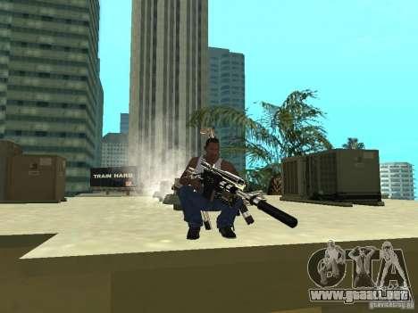 Weapons Pack para GTA San Andreas quinta pantalla