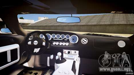 Ford GT1000 2006 Hennessey [EPM] STREET BURNING para GTA 4 vista superior