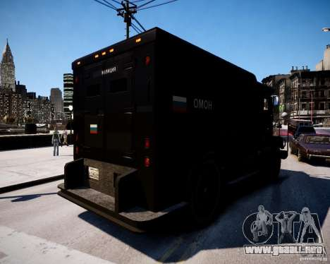Russian Enforcer para GTA 4 Vista posterior izquierda