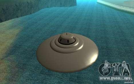 UFO In San Andreas para GTA San Andreas