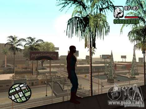 Spider Man From Movie para GTA San Andreas sexta pantalla