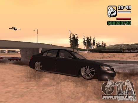Hyundai Sonata Edit para GTA San Andreas left